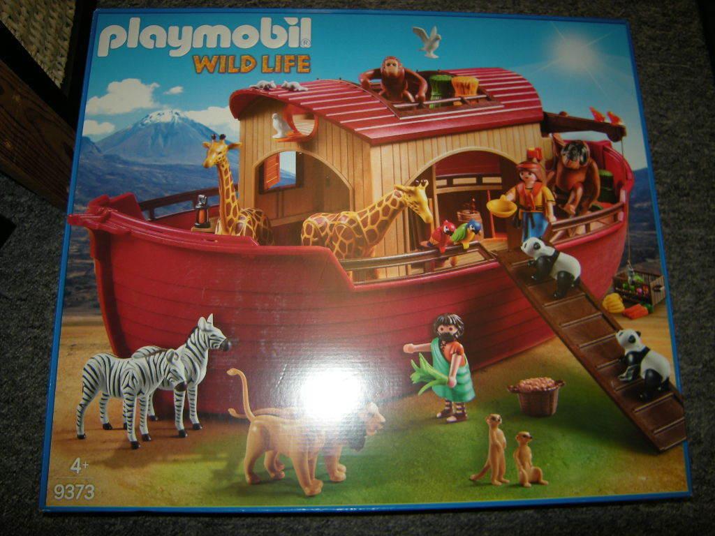 PLAYMOBIL n. 9373 Wild Life Noah's arche-PREZZO SPECIALE-IN SCATOLA ORIGINALE