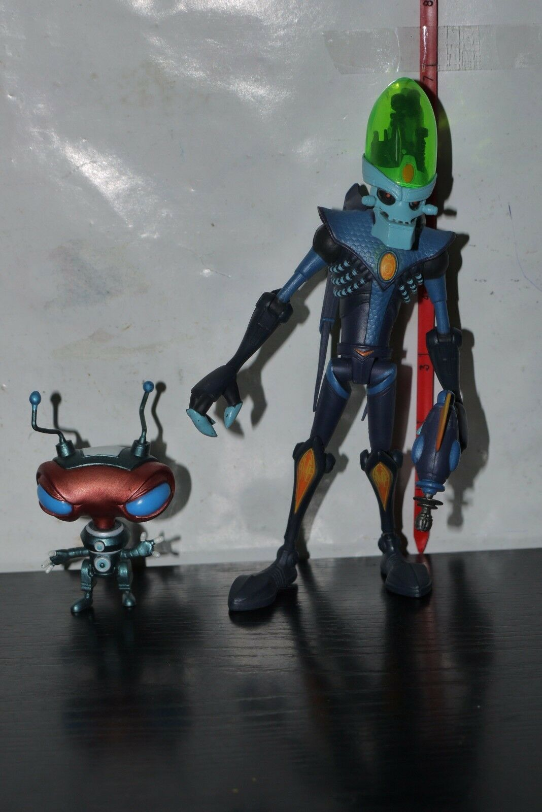 Ratchet and Clank Dr. Nefarious with Zoni Action Figure DC UNLIMITED