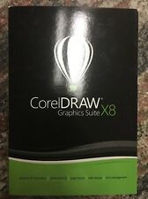 Brand New Sealed CorelDraw Graphics Suite X8