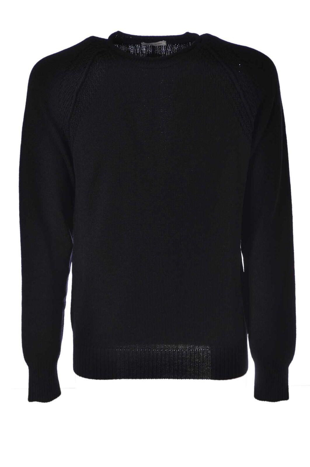 Paolo Pecora - Knitwear-Sweaters - Man - Blau - 4384913A190752
