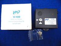 Vpg V-100 Master Alarm Module Vanguard Products Group Key Code Wz4