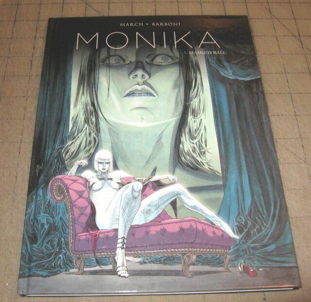 MONIKA Vol 1 MASKED BALL (1st Print 2016) Titan Comics HC TPB - Thilde Barboni