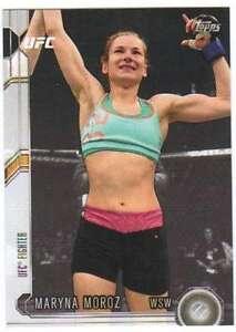 2015-Topps-UFC-Chronicles-270-Maryna-Moroz