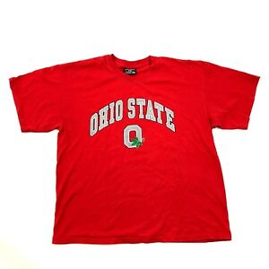 s&B Ohio State Buckeyes Shirt Mens Size Extra Large Red Loose Fit Steve Barry's