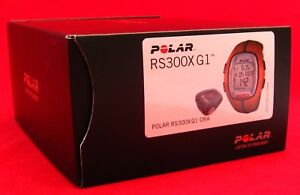 POLAR-RS300X-G1-ORANGE-HEART-RATE-MONITOR-RUNNING-BIKE-EXERCISE-FITNESS-90036634