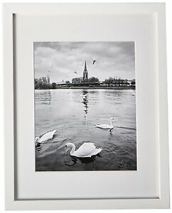 Lot 6 White Color Wood Picture Frames 11x14 Frame For 8x10 Photo
