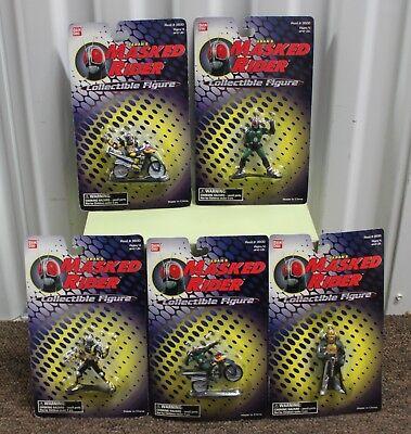 5-set Masked Rider Sammlerstück Figur Land Dregon Aktion Bandai Saban Kamen Neu Hohe QualitäT Und Geringer Aufwand