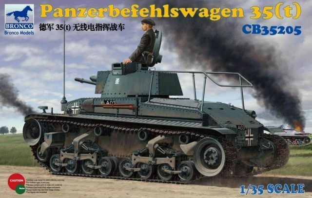 Bronco Models Panzerbefehlswagen 35T Model Kit (1 35 Scale)