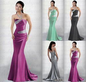 size 40 50a8f b6fa7 Details zu Mermaid Abendkleid Ballkleid Party Brautjungfern Verlobung Kleid  Abiball A902
