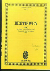 Beethoven-String-Trio-G-Dur-Op-9-No-1-Studienpartitur
