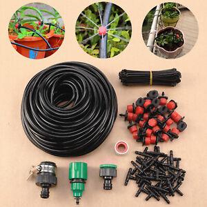 kit-Irrigation-goutte-a-goutte-automatique-tuyau-pour-Jardin-Pelouse-Paysage