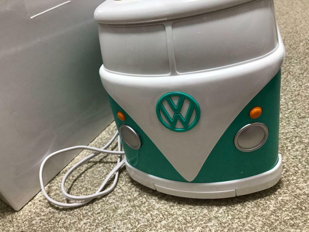 Volkswagen Grille-pain Mini Bus Voiture Camion Figure intérieur Officiel Marchandises LTD Vert
