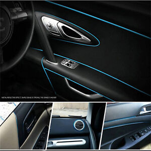 5 Meters Blue Car Styling Moulding Decorative Filler Strip Interior ...