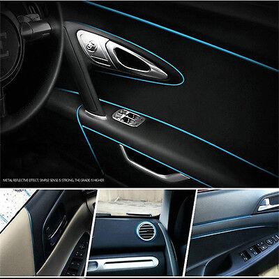 5 Meters Car Styling Moulding Decorative Filler Strip Interior Exterior Set Blue