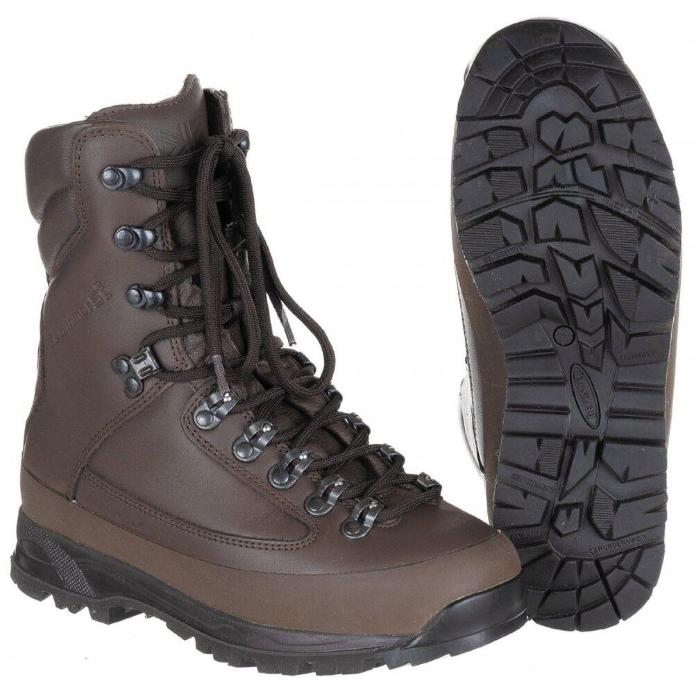 Original botas de combate Karrimor señora señora señora botas marrón uso botas impermeable  buena reputación