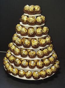 7 Tier Ferrero Rocher Stand wedding birthdays Sweet special ocaision