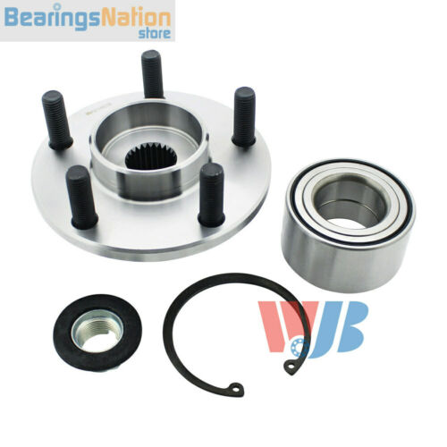 Pack of 2 WJB WA518519 Front Wheel Hub Bearing Assembly Replace 518519 BR930529K