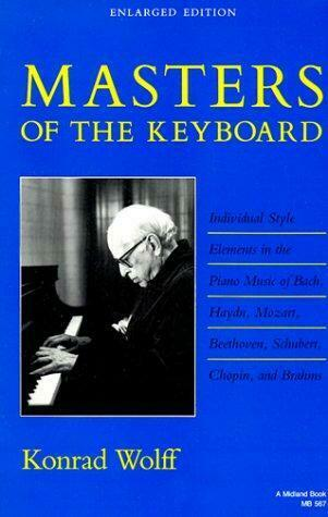 Masters of the Keyboard : Individual Style Elements in the Piano Music of Bach,