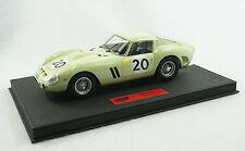 1/18 BBR FERRARI 250 GTO 24HR LEMANS 1962 #20 BLACK DELUXE LEATHER LE 10 PCS MR