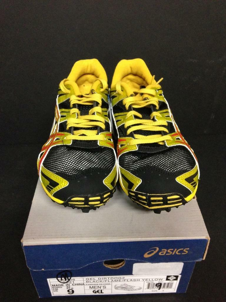 Mr/Ms ASICS GEL DIRTDOG2 BLACK/FLAME/FLASH YELLOW quantity (F24-0052) Guarantee quality and quantity YELLOW product quality Known for its beautiful quality 2fb7b5