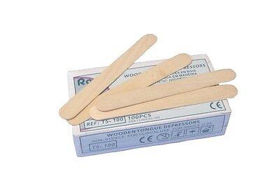 100 Rührspatel / Holzspatel HP-L1061 Länge: 15cm für Epoxy & Polyesterharz EP