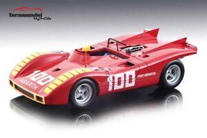 Abarth 2000 Sp # 100 2e Enna Gp 1970 A. Merzario Modèle 1:18 Tecnomodel