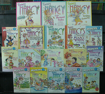 18 Fancy Nancy Book Lot Jane O Connor 9 Picture Books 9 Readers Ebay
