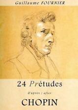 24 Pré-Études d'Après/after Chopin - Partition Pour Piano / Piano Score by...