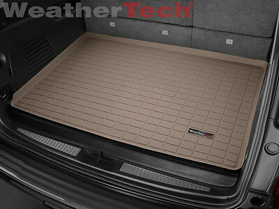 WeatherTech Cargo Trunk Liner for Chevy GMC Suburban Large 1992-1999 Tan