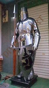 ARMOUR KNIGHT CRUSADER FULL SUIT OF ARMOR COLLECTIBLE ...