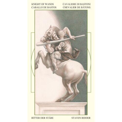 LEONARDO DA VINCI TAROT DECK CARDS ESOTERIC LO SCARABEO WITH VELVET BAG NEW