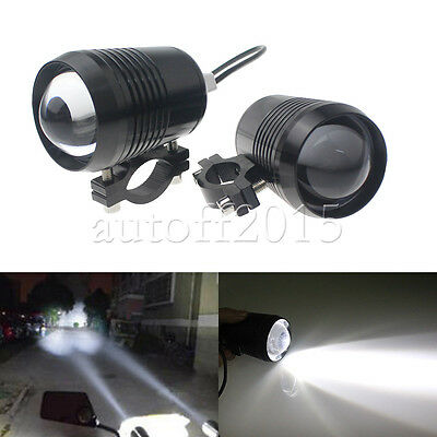 2PCS 30W CREE U2 Motorcycle LED Waterproof Driving Headlight Spot Fog Light Lamp