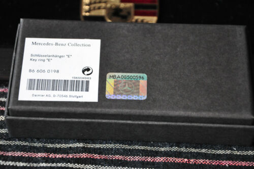 Mercedes-Benz Collection Key Ring NIB Genuine