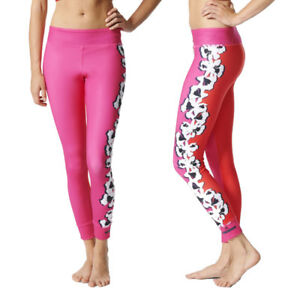 7969fe6d65 Image is loading adidas-Womens-Stella-McCartney-Yoga-Flower-Print-Tight-