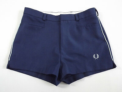 Beliebte Marke Vintage Mens Fred Perry Retro Preppy Shorts Tennis Sports Casual College 70s 80s