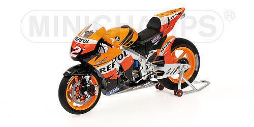 1 12 Minichamps Honda RC211V Dani Pedrosa Team Repsol Honda Moto GP 2008 NEW