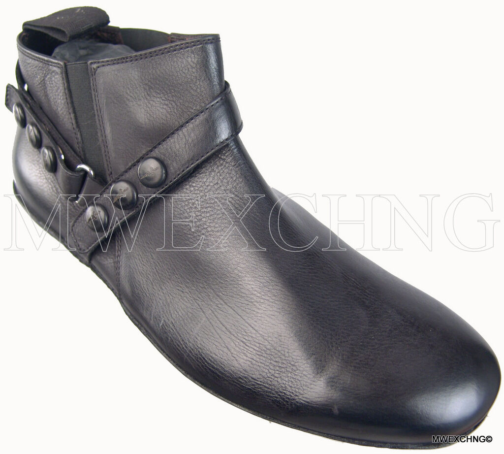 Scarpe casual da uomo  Authentic $690 Cesare Paciotti US 7 Leather Boots Italian Designer Shoes
