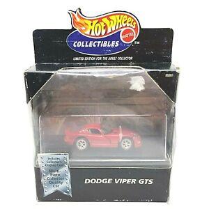 1997 HOT WHEELS DODGE VIPER CLUB AMERICA LIMITED EDITION REALRIDERS 1//9999 PROMO