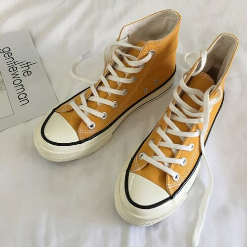 Hommes Toile High Top Lace Up Ginger fashion style skateboard shoes Hot