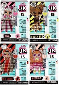 LOL-Surprise-JK-COMPLETE-SET-OF-4-dolls-DIVA-SWAG-QUEEN-BEE-NEON