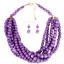 Fashion-Boho-Crystal-Pendant-Choker-Chain-Statement-Necklace-Earrings-Jewelry thumbnail 155