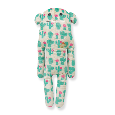 Craftholic Mexico Loris Green Cactus Monkey Size L Mild And Mellow Soft Cacti Plush Pillow