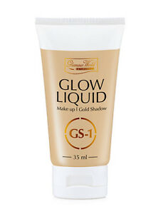 Image is loading GLAMOUR-WORLD-AYURVEDIC-GLOW-LIQUID-MAKE-UP-GOLD-