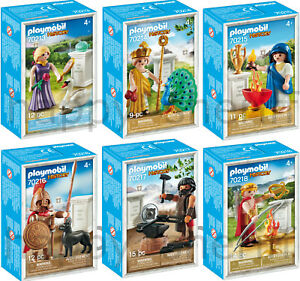 Playmobil-NEW-Greek-Gods-70213-70214-70215-70216-70217-70218-Exclusive-Boxed