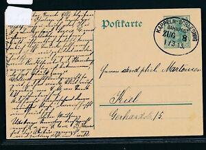 29080) Bahnpost Ovalstempel Kappeln-schleswig Train 8, Ga 1913-afficher Le Titre D'origine ArôMe Parfumé