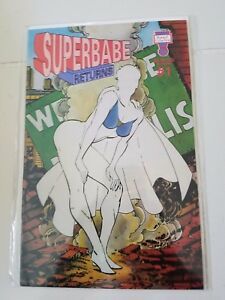 SUPERBABE-RETURNS-1-1993-SPOOF-COMICS-PARODY-1ST-PRINT-FUNNY-GUICE-COVER-NM
