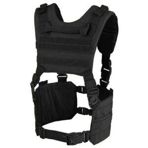 Condor #MCR7 Tactical Ronin Chest Rig H-Harness - Black | eBay