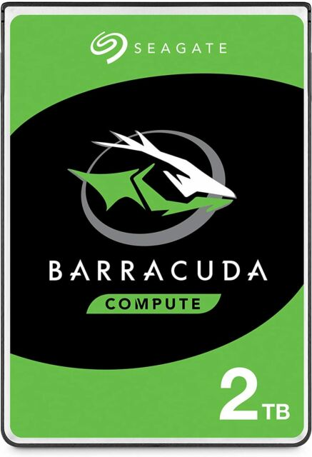 Seagate BarraCuda Mobile Hard Drive 2TB SATA 6Gb/s 128MB