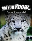 Snow Leopards by Breanne Satori (Paperback / softback, 2014)