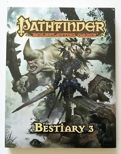 Pathfinder-Roleplaying-Game-Bestiary-3-Softcover-RPG-Paizo-Book